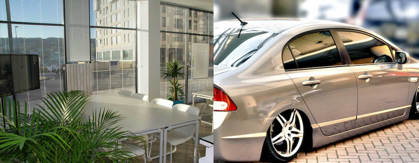 Commercial, Residential and Automotive Tinting